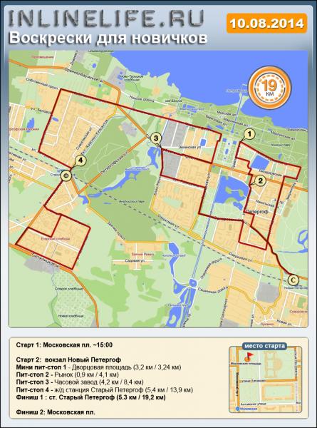 Маршрут НВ 2014-08-10